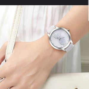Accessories - Silver pineapple watch - women's watch